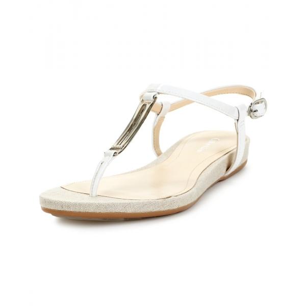 Home | All Shoes | Sandals | Calvin Klein Shoes Pozey Two Tone Sandals