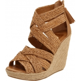 DV by Dolce Vita Shoes Tulle Wedge Sandal
