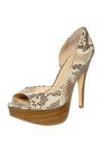 INC International Concepts Women's Shoes Denise Platform Peep Toe Pump