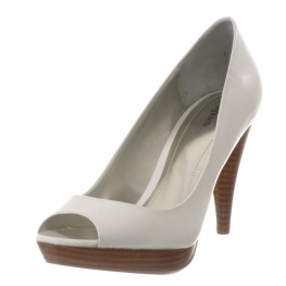 Style&Co. Shoes, Celine Peep Toe Pumps White