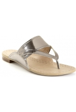 Rachel Roy Shoes Pesara Open Toe Thongs Sandals  Silver