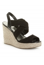 Style&Co. Shoes, Rozz Wedge Sandals Black