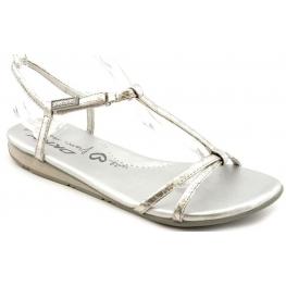 DKNY Women's Tricia Sandal Silver