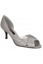 Nina Shoes Culver D'Orsay Pump Silver