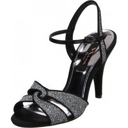 Nina Shoes Delina Sandal Silver Glitter