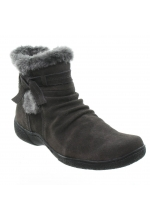Bare Traps Leader Ankle Boot Dark Grey