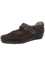 Aerosoles Women's BookEnd Brown Suede Flat