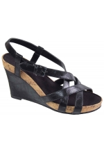 Aerosoles Women's At First Plush Black Sandal