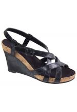 Aerosoles Women's At First Plush Black Sandal