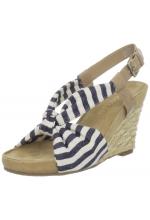 Aerosoles Women's Plush Pillow Striped Sandal