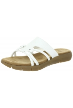 Aerosoles Women's Wip Away White Sandal