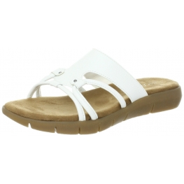 Aerosoles Women's Wip Away White Sandal