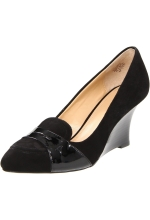 Circa Joan & David Women's Manni Wedge Pump Black