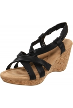White Mountain Shoes Gratitude Wedge Sandal