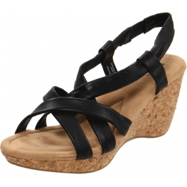 White Mountain Shoes Gratitude Wedge Sandal