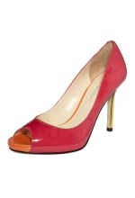 Enzo Angiolini Shoes Maiven Peep Toe Pumps