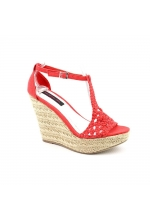 Material Girl Shoes Razzle Platform Wedge Sandal