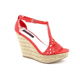 Material Girl Shoes Razzle Platform Wedge Sandal