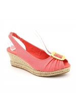 Naturalizer Women's Bina Slingback Wedge Coral