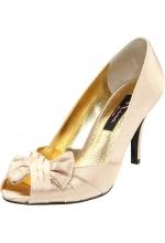 Nina Shoes Forbes Open-Toe Pump