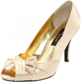 Nina Shoes Forbes Open-Toe Pump