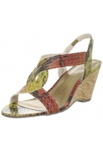 AK Anne Klein Women's Parma Wedge Sandal