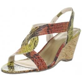 AK Anne Klein Women's Parma Wedge Sandal