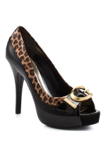Guess by Marciano Alessa 2 Black Patent Pumps