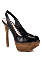 Jessica Simpson Shoes Halie Platform Pumps (Black)