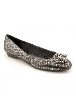 Calvin Klein Shoes Morgan Metallic Flats