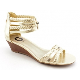 G by GUESS Women's Shoes Interest Demi Wedge Sandals