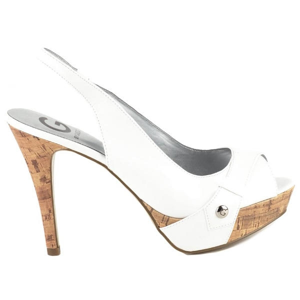 Shoes | Pumps | G by GUESS Women s Shoes Cabelle Platform White Pumps