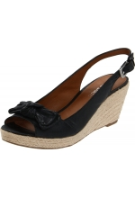 Franco Sarto Women's Camino Wedge Sandals Black