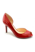 Marc Fisher Shoes Joey Peep Toe D'Orsay Pump