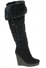 Nine West Women's Estrada Boot Black