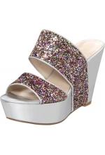 Nine West Women's Larysa Wedge Platform Sandals