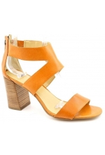 Nine West Women's Very Now Open Toe Sandal Tan