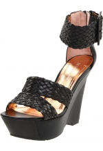 BCBGeneration Women's Candiss Platform Wedge Sandal