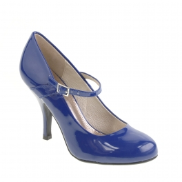 Journee Collection Womens Patent Round Toe Mary Jane Pumps
