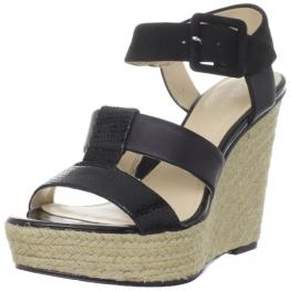 Calvin Klein Shoes Ellison Wedge Sandals