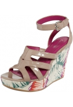 Calvin Klein Shoes Jennah Wedge Sandals