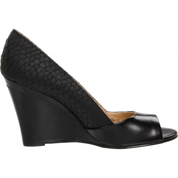 Home | All Shoes | Wedges | Calvin Klein Shoes Qammie Nappa Wegde Peep
