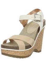 BCBGeneration Women's Chessa Wedge Sandal Natural