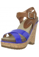 BCBGeneration Women's Chessa Wedge Sandal Blue